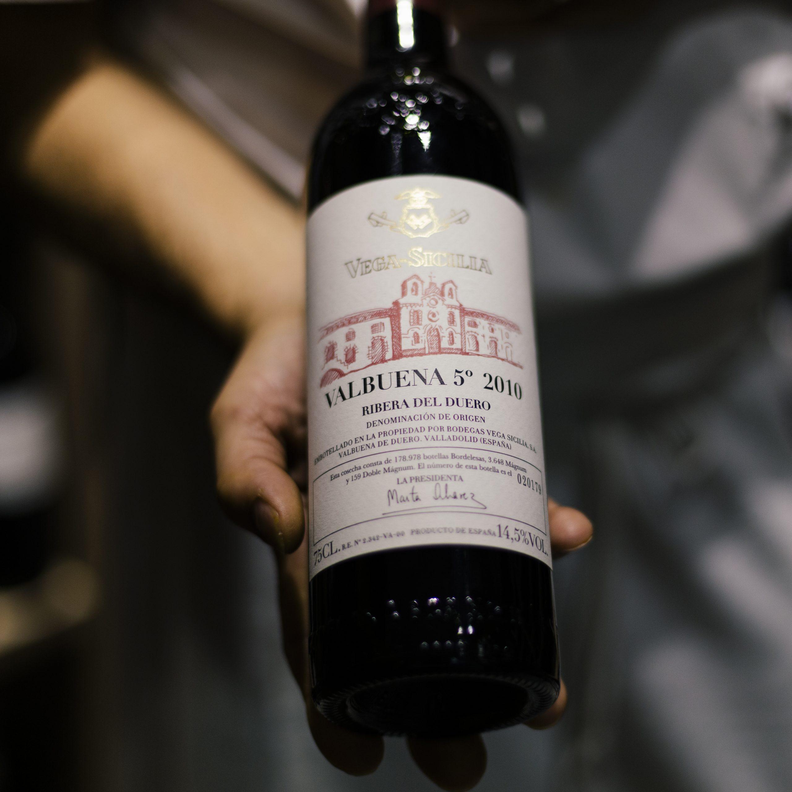 Botella de vino Los Abetos